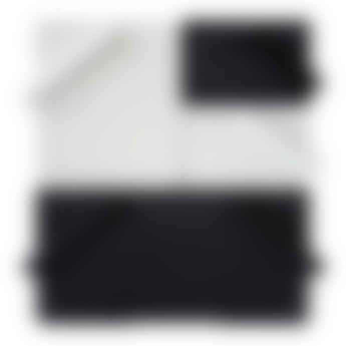 Hachiman Omnioffre Stacking Storage Box Small in Dark Grey