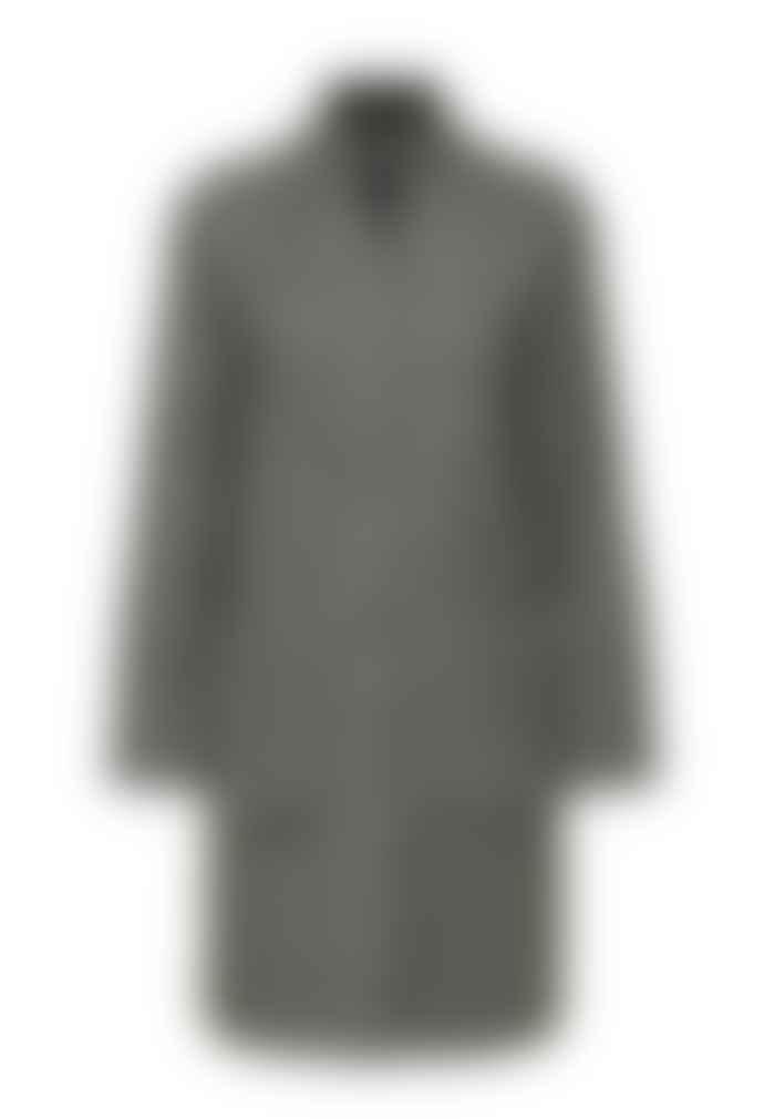 Selected Femme Nashwill Herringbone Wool Coat