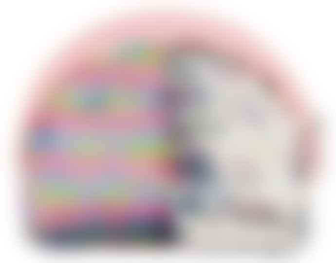 Moses Fabric Rainbow Purse