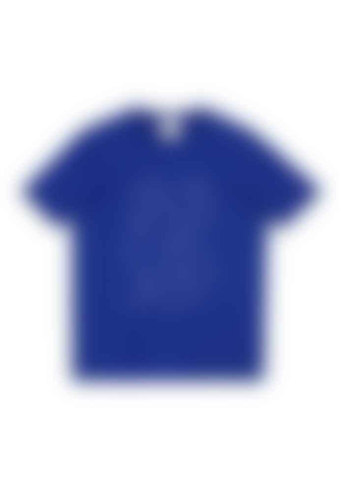 Armedangels 100% Organic Cotton Bike T-shirt In Blue