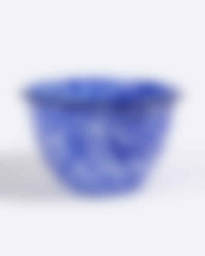 Parlane Blue & White Splash Mixing Bowl