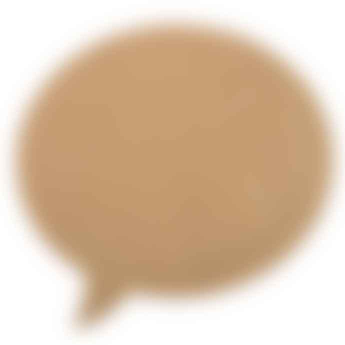 Bloomingville Large Cork Pin Board Speech Bubble