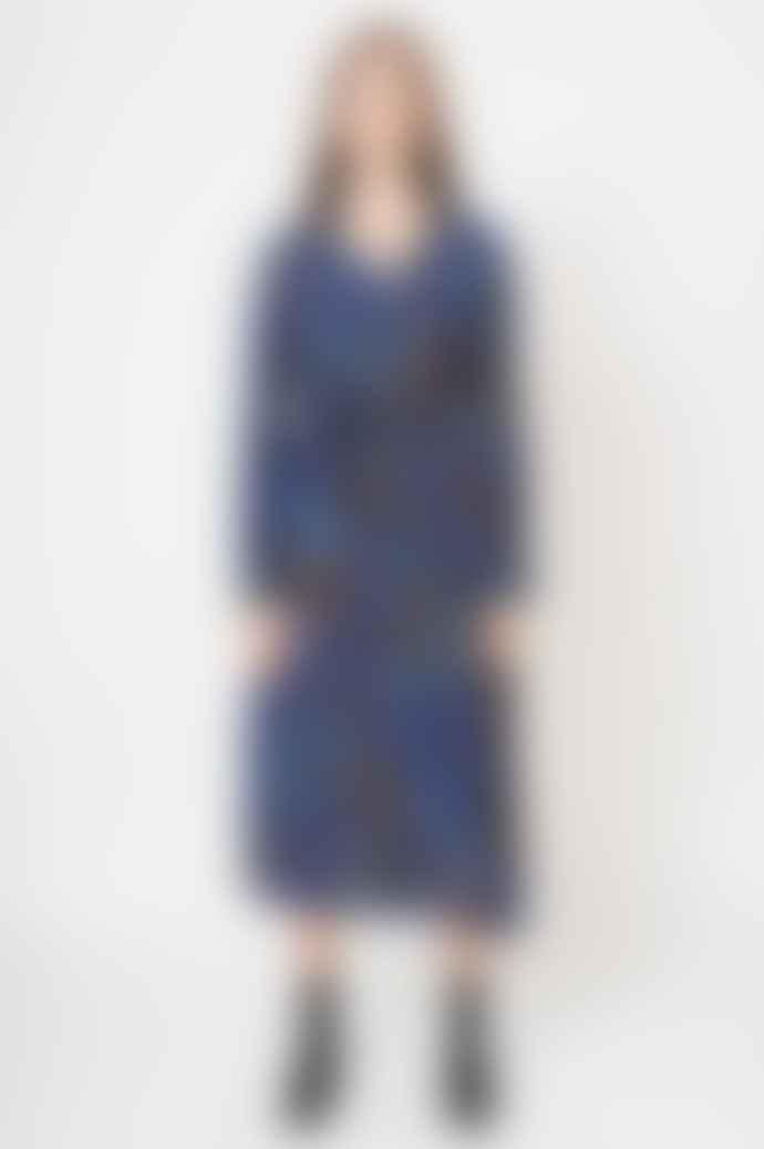 Pyrus  Ophelia Short Shirt Dress In Toucan Tropical