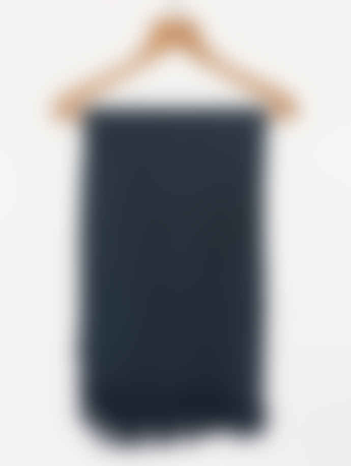 Freight HHG Ink Blue Cotton Bath Towel