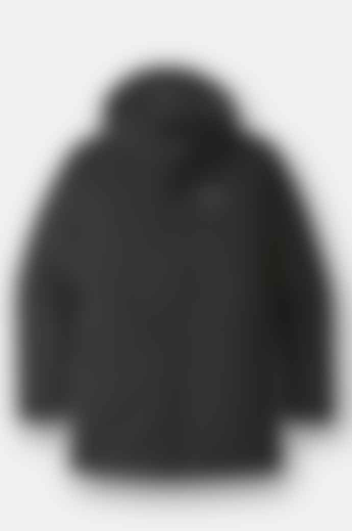 Patagonia Lone Mountain Parka Coat In Black