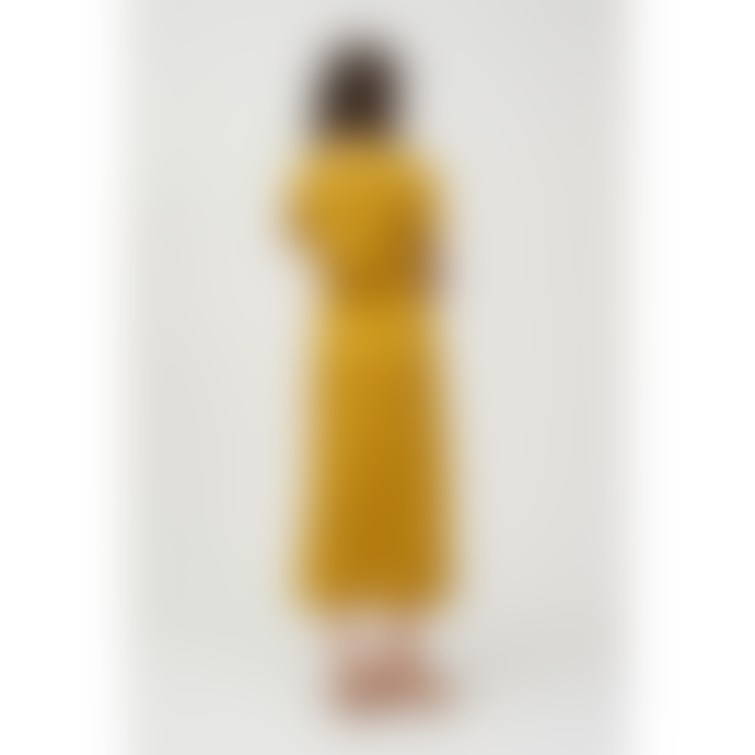 Shio Drawstring Dress - Olive Oil