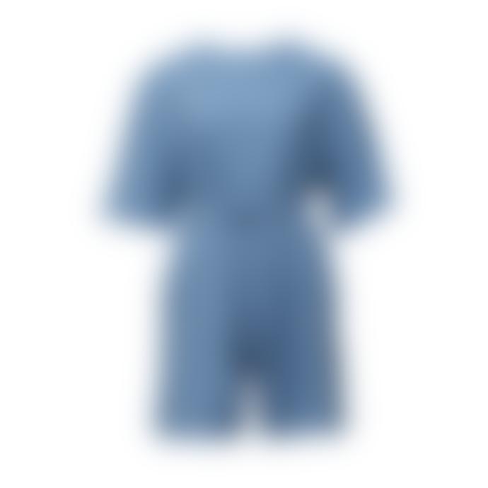 Shio Romper - Cornflower Blue