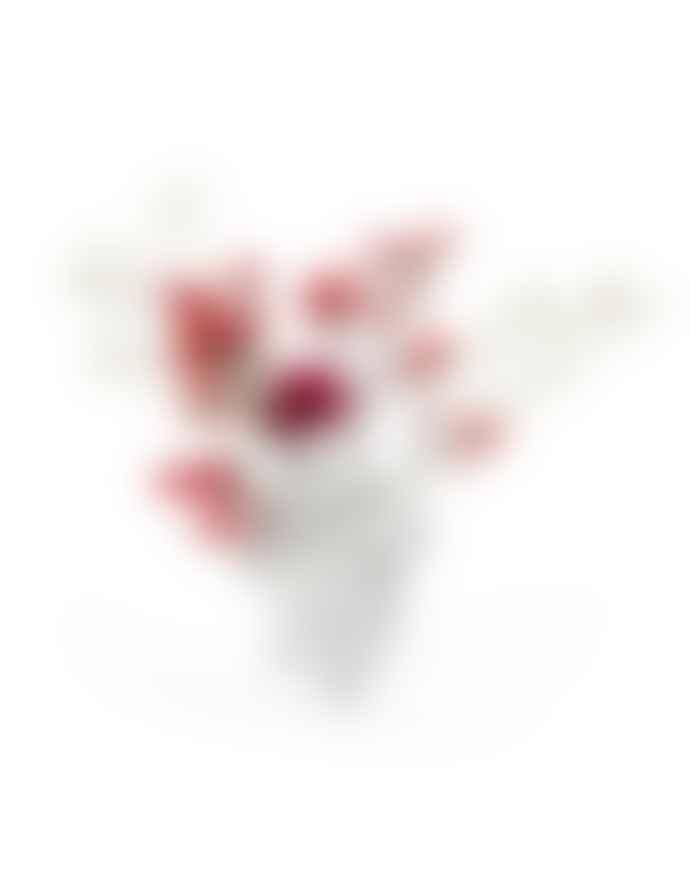 Seletti White Love In Bloom Heart Vase