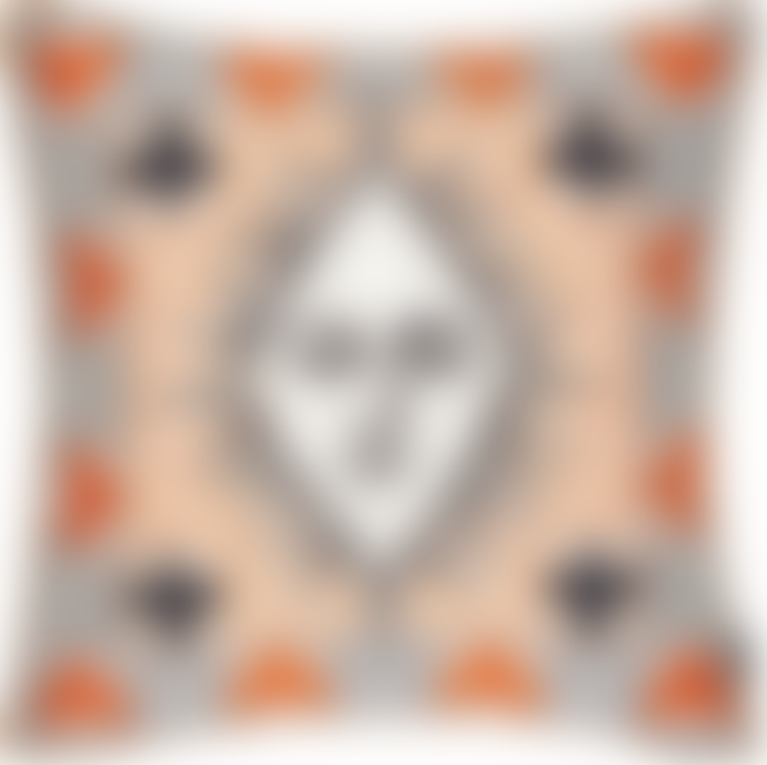 Christian Lacroix Multicolor Poker Face Cushion