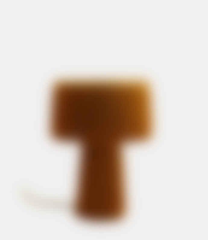 Madam Stoltz Mustard Table Lamp With Tassels
