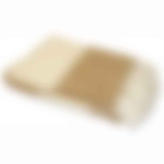 Persora Cotswold Fudge And Cream Striped Throw