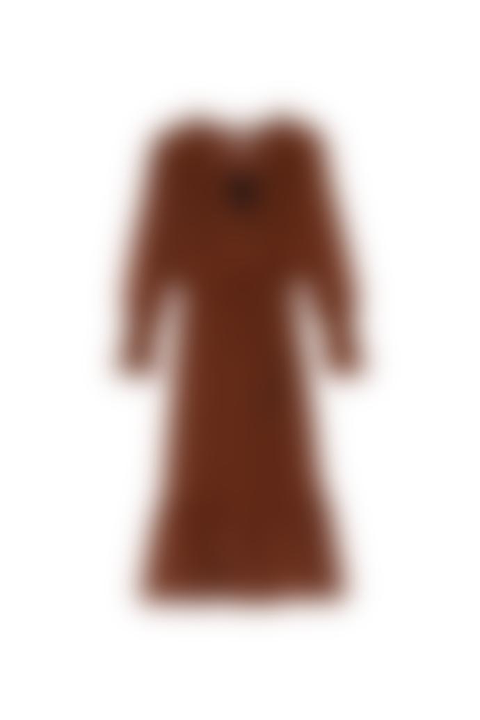 SUNCOO Calixte Dress Tabac