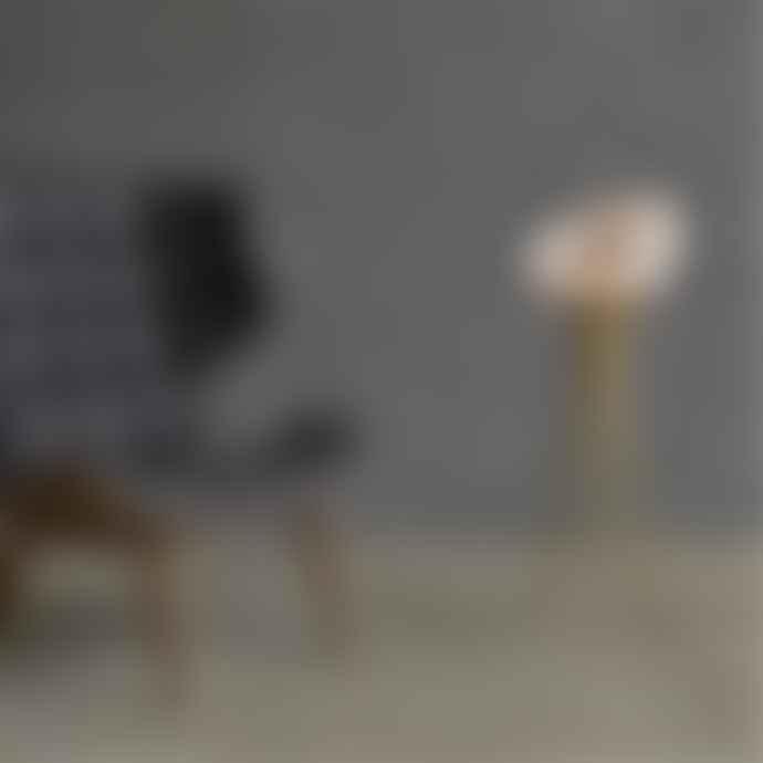 101 Copenhagen  Brass Moonraker Floor Lamp