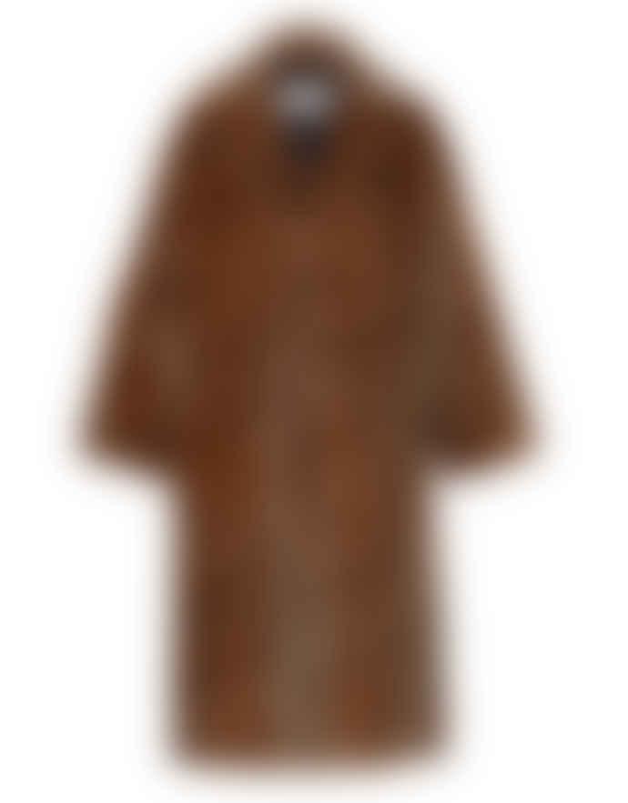 STAND MARIA FAUX FUR COAT – LEOPARD