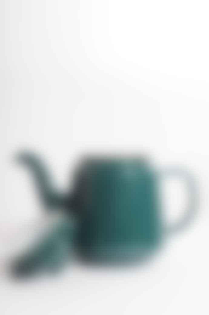 Falcon Enamelware Samphire Green Teapot