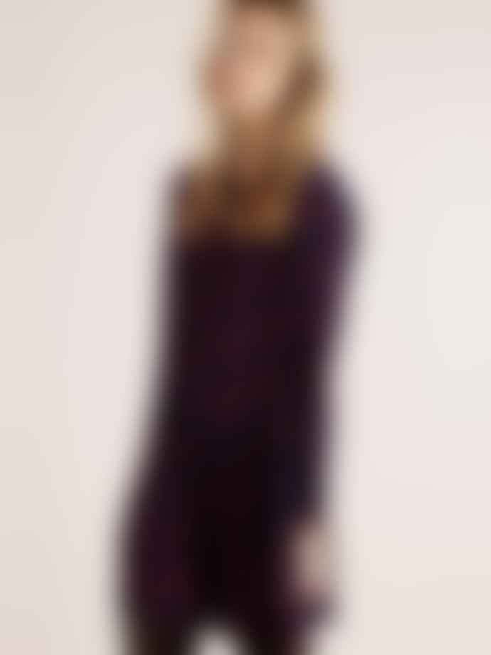 Lollys Laundry Gili Dress In Dark Navy