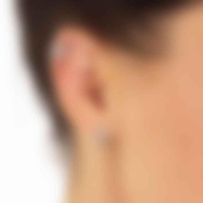 Scream Pretty  Triple Split Huggie Earrings