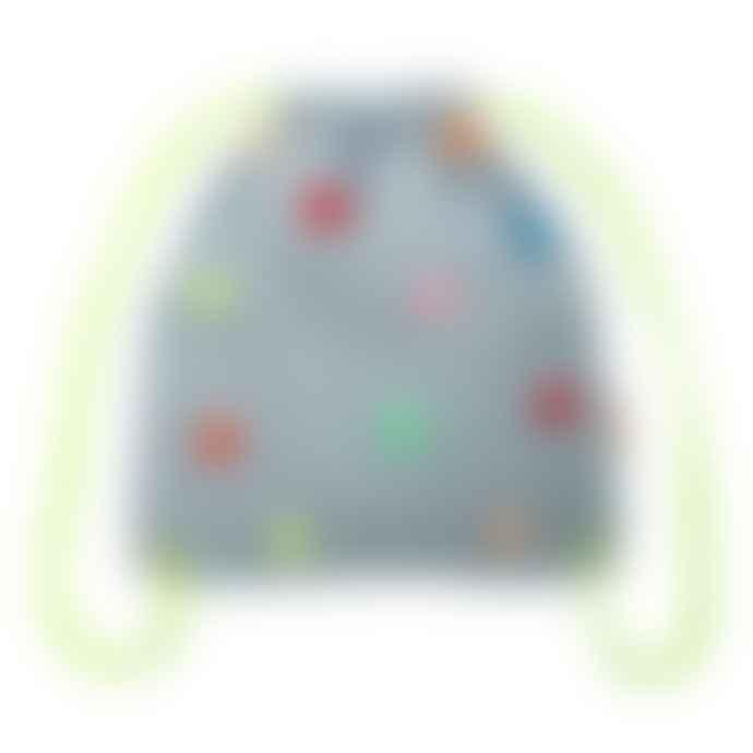 Meri Meri Chambray Pompom Backpack