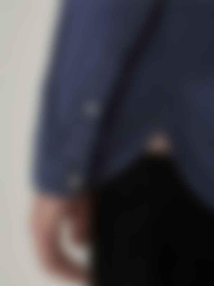 Oliver Spencer Clerkenwell Woburn Shirt In Navy
