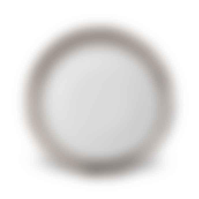 L'Objet Perlee Platinum Dessert Plate