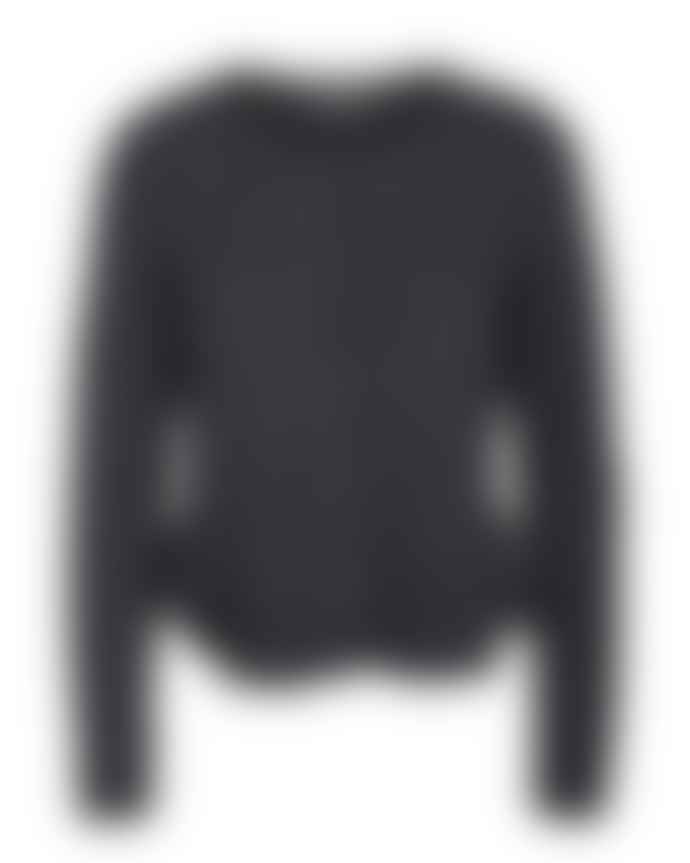 Mos Mosh Dark Grey Cashmere Alice Cardigan