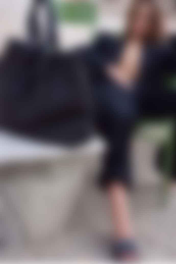 Tissa Fontaneda Black Surprise Large Shopper