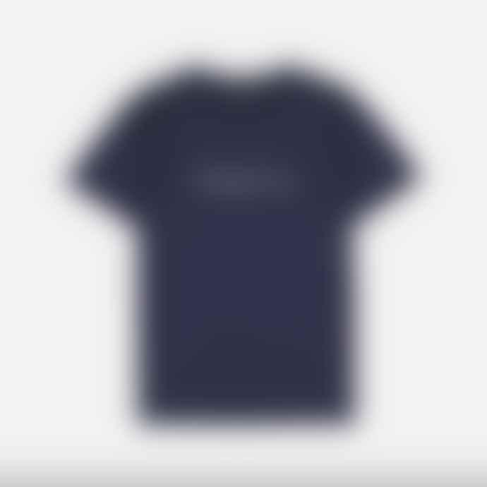 Makia Clothing Makia Deckhand Tee Shirt Dark Blue