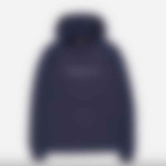 Makia Clothing Makia Deckhand Hooded Sweatshirt Dark Blue