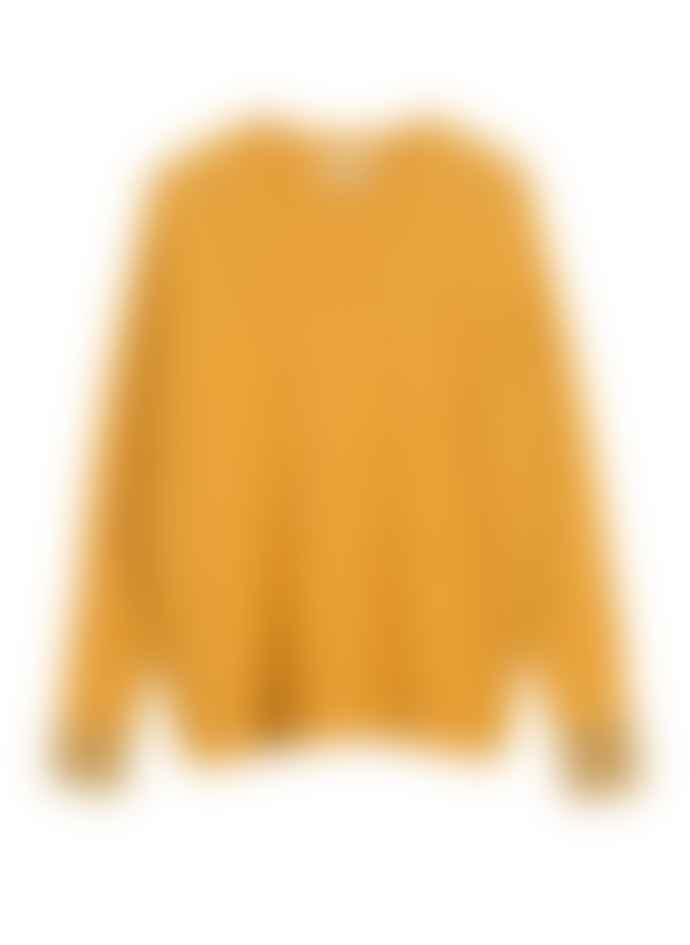 Maison Anje Mustard Yellow Lauror Knit