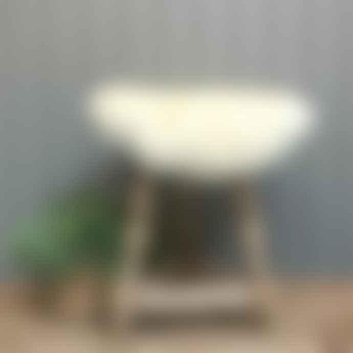 Camperdown Lane Sheepskin Seatpad In Ivory