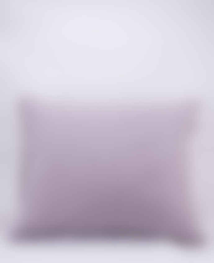 AB Småland Lavender Organic Combed Cotton Crinkle Pillowcase