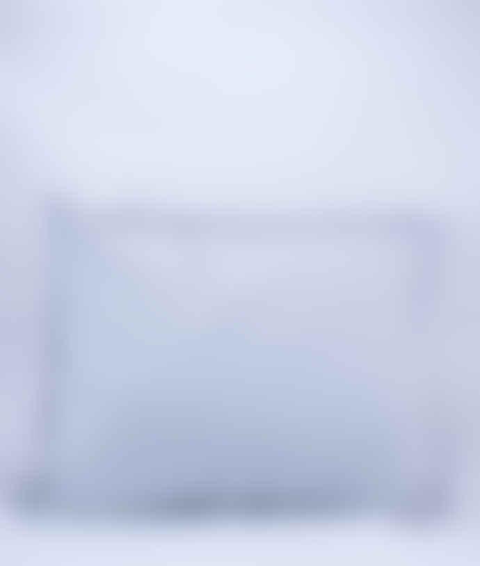AB Småland Light Grey Organic Combed Cotton Crinkle Pillowcase
