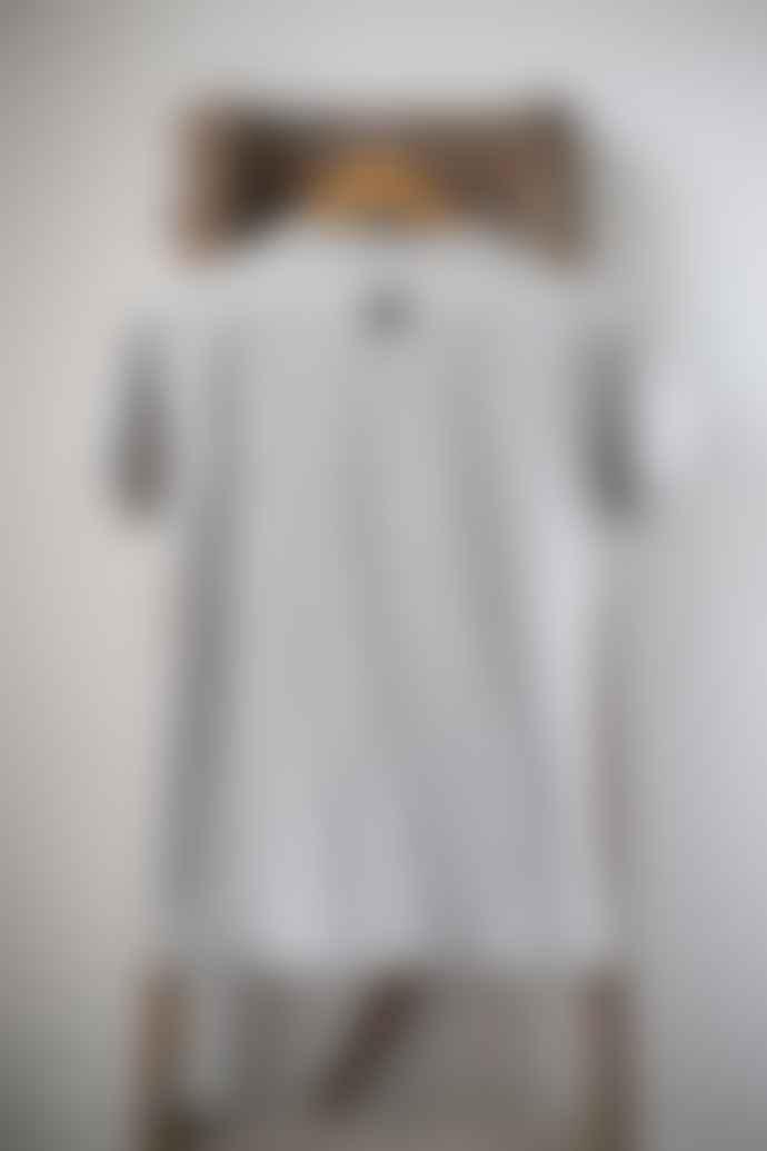 Bella Freud  Grey Marl Colour Block Dog T Shirt