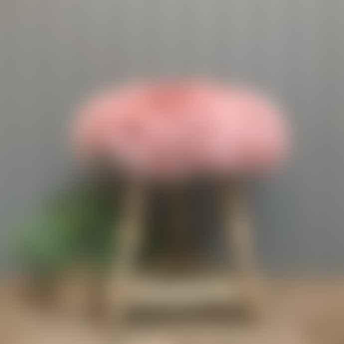 Camperdown Lane Sheepskin Seatpad In Blush Pink