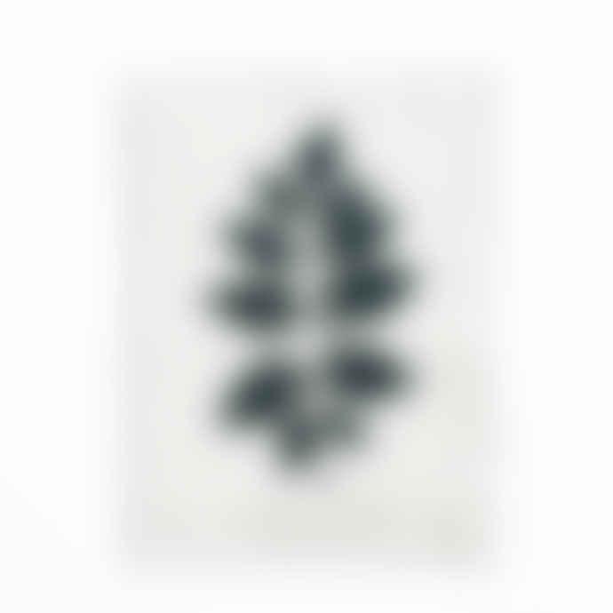 MR Studio Golden Rain Tree Leaf Lino Print