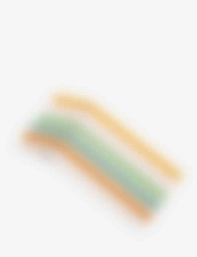 HAY Borosilicate Glass Six Pack Dots Straws