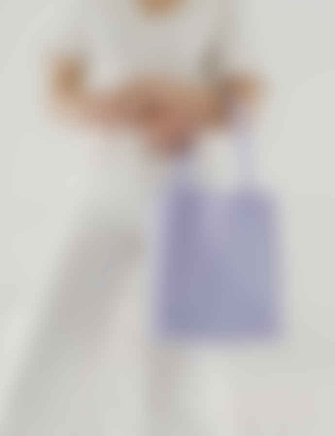 Baggu Canvas Cotton Lilac Retail Tote