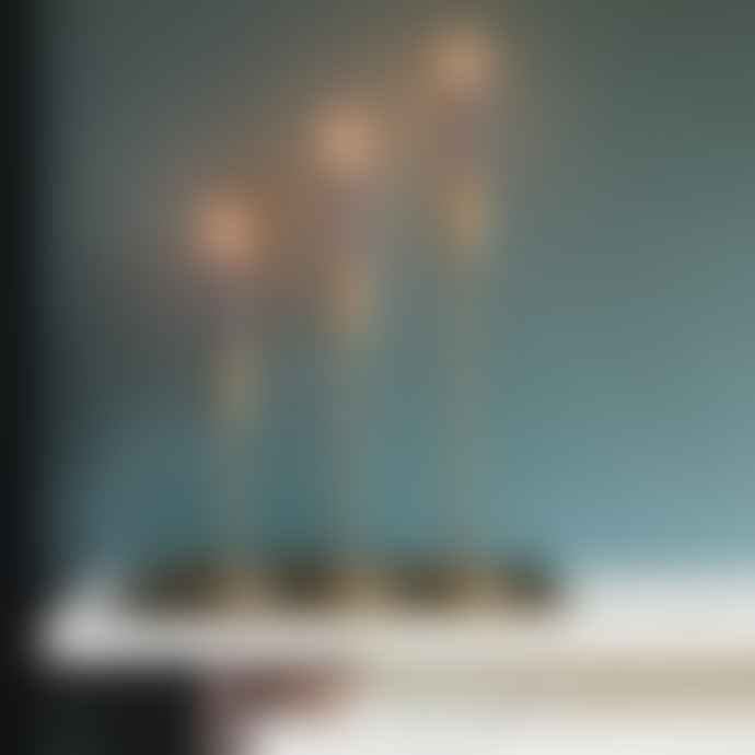 Light & Living Brass Metal Candlestick Tall
