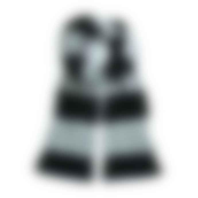 STYLECREEP ACCESSORIES Stylecreep Varsity Stripe Scarf Grey Black