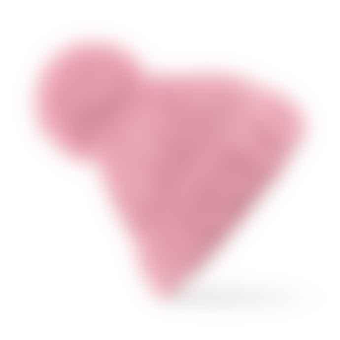 STYLECREEP ACCESSORIES Stylecreep Oversized Hand Knit Pom Beanie Dusky Pink