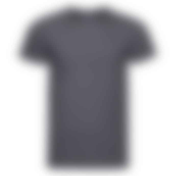 Russell Ringspun Cotton Slim Fit T Shirt Charcoal Grey