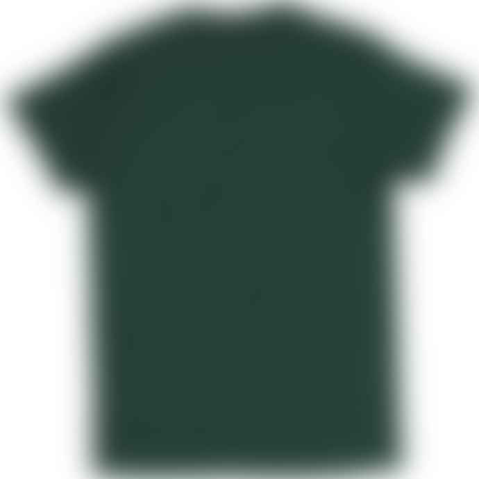 Russell Ringspun Cotton Slim Fit T Shirt Bottle Green