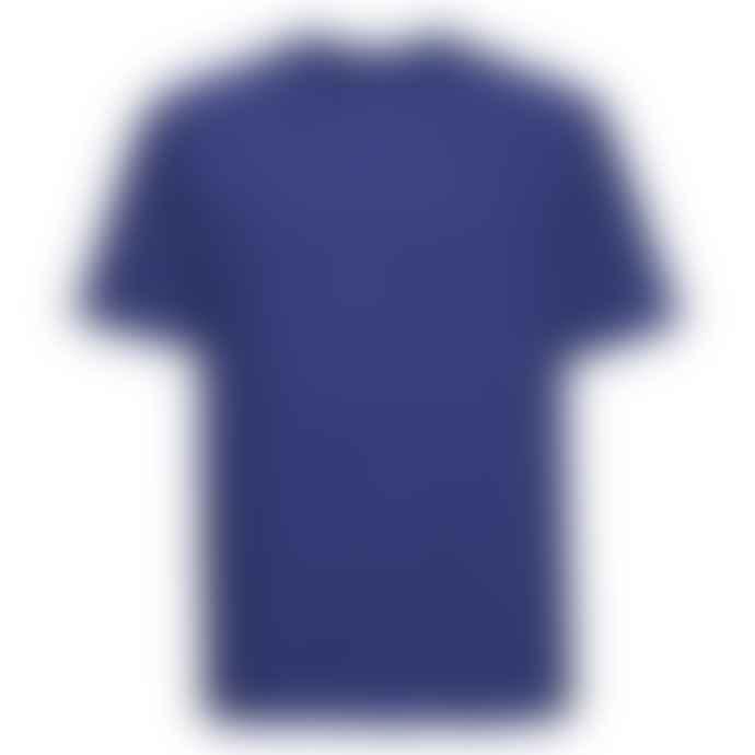 Russell Ringspun Cotton Regular Fit T Shirt Royal Blue