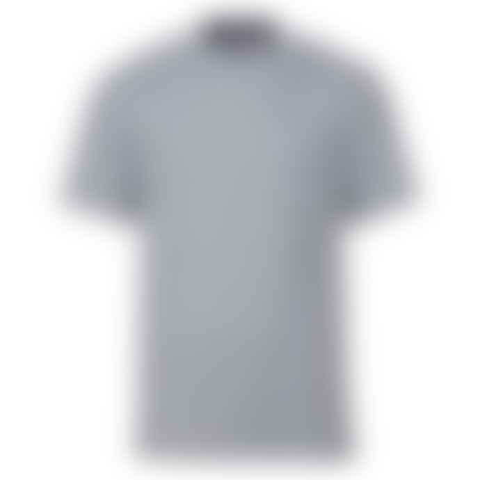 Russell Ringspun Cotton Regular Fit T Shirt Light Oxford Grey