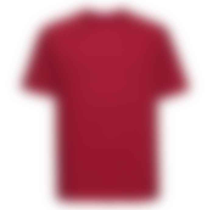 Russell Ringspun Cotton Regular Fit T Shirt Classic Red