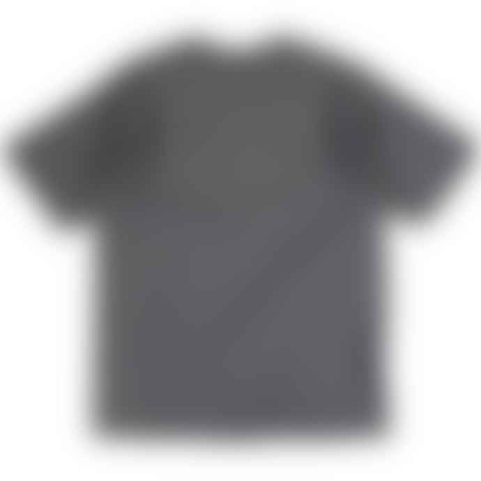 Russell Ringspun Cotton Regular Fit T Shirt Charcoal Grey
