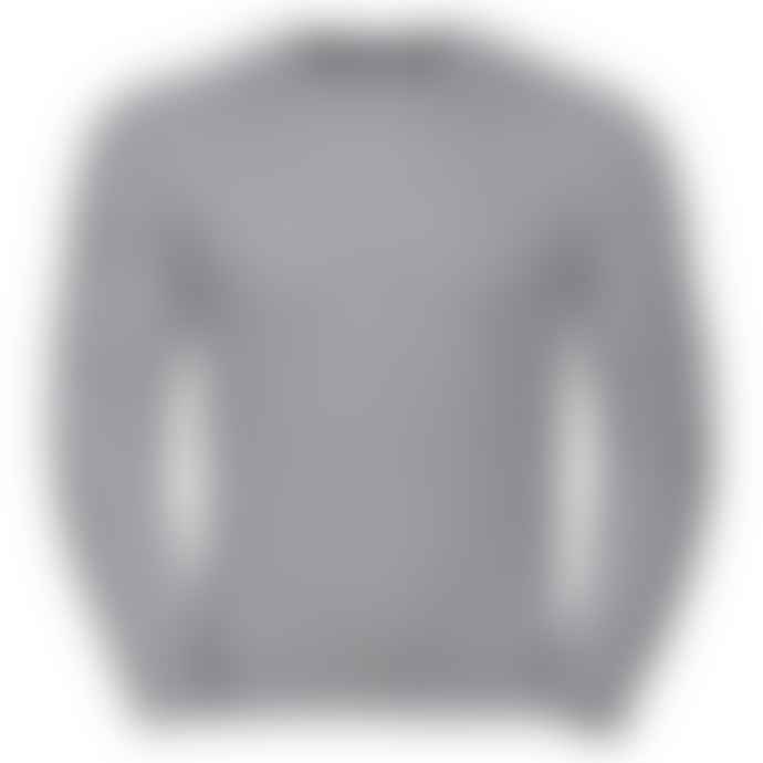 Russell Classic Set In Sweatshirt Light Oxford Grey