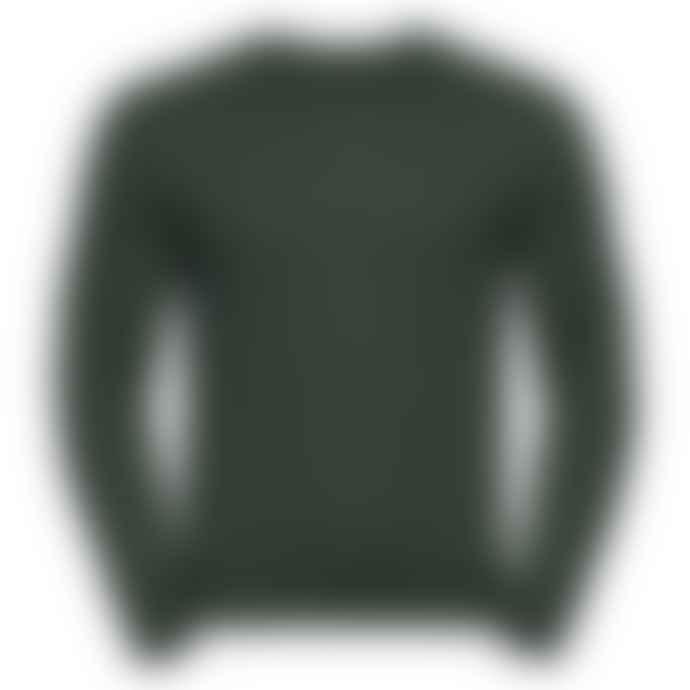 Russell Classic Set In Sweatshirt Bottle Green