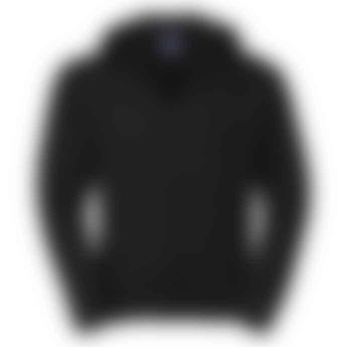 Russell Authentic Zip Up Hooded Sweatshirt Black