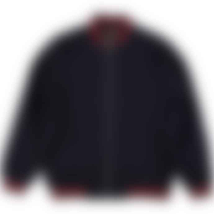 Real Hoxton London Monkey Jacket Navy Red